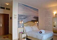 ホテル ソヴラナ - リミニ - 寝室