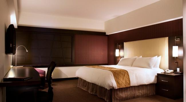 ホテル ルビー フーズ - モントリオール - 寝室