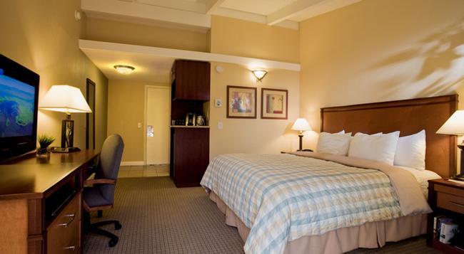 レッド コテージ イン - メンロパーク - 寝室