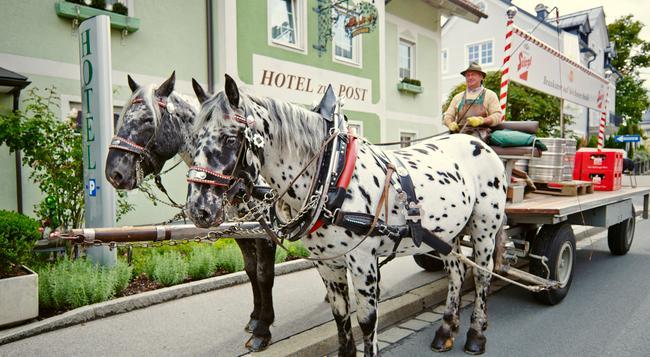 ダス グリューネ ビオ ホテル ツル ポスト - ザルツブルク - 屋外の景色