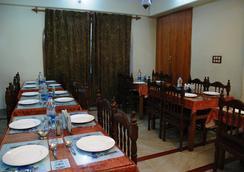 Hotel Shaneel Residency - Srinagar - レストラン