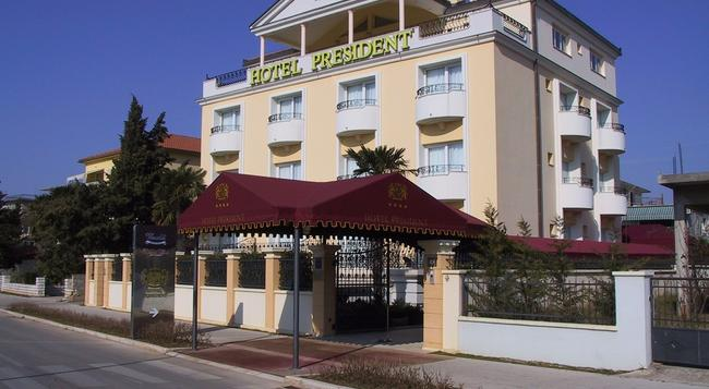 Hotel President - ザダル - 建物