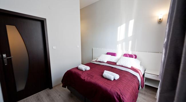 プラチナ アパートホテル - クラクフ - 寝室