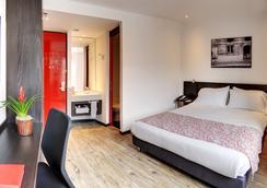 Hotel B3 Virrey - ボゴタ - 寝室