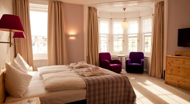 ホテル ロザッチ - ポントレジナ - 寝室