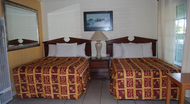 オセアナ ブティック ホテル - San Clemente - 寝室