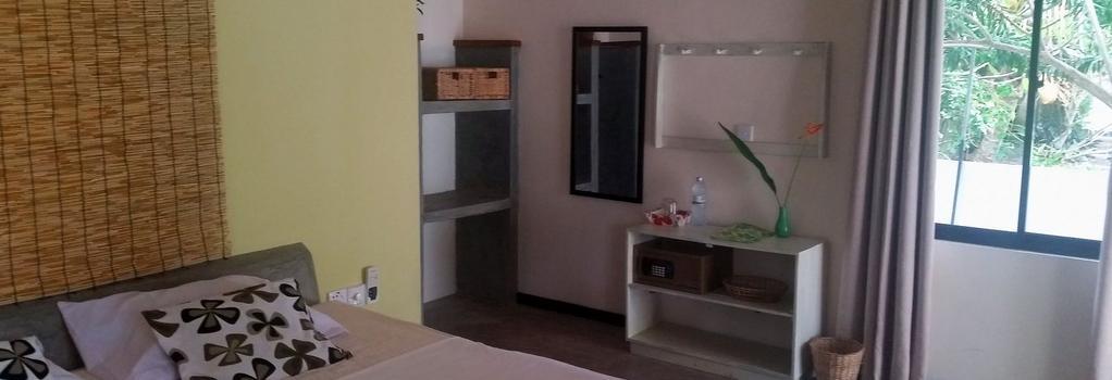 Nature Villa Unawatuna - Adults Only - Unawatuna - 寝室