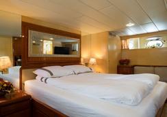 Christina Onassis Yachthotel - ロッテルダム - 寝室