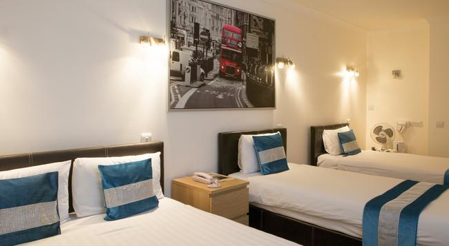 ウェストポイント ホテル - ロンドン - 寝室