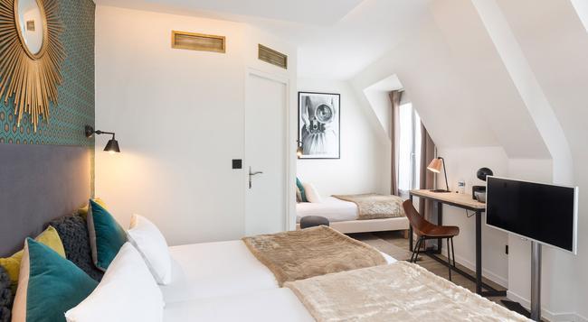ベスト ウエスタン ホテル オーム バイ ハッピーカルチャー - パリ - 寝室