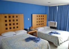 Hotel Ziami - ベラクルス - 寝室
