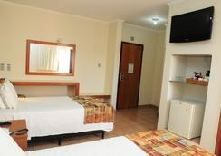Hotel Riviera Araçatuba - Araçatuba (São Paulo) - 寝室