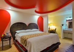 Romantic Inn & Suites - ダラス - 寝室