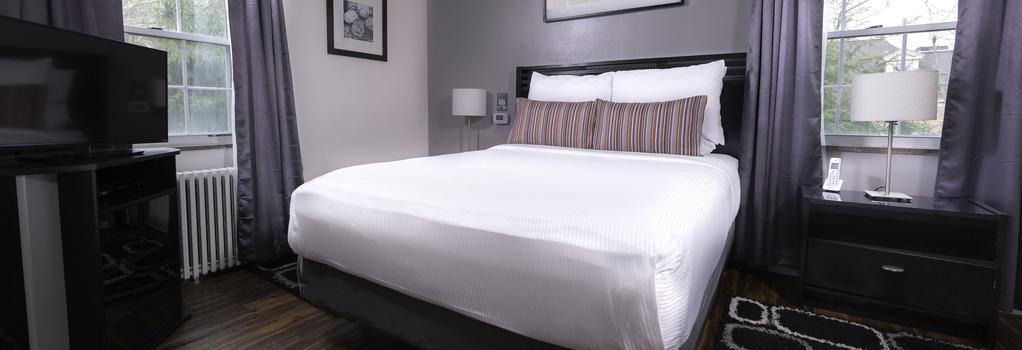 シャディサイド イン オール スイーツ ホテル ピッツバーグ - ピッツバーグ - 寝室