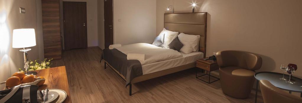 Pergamin Royal Apartments - クラクフ - 寝室