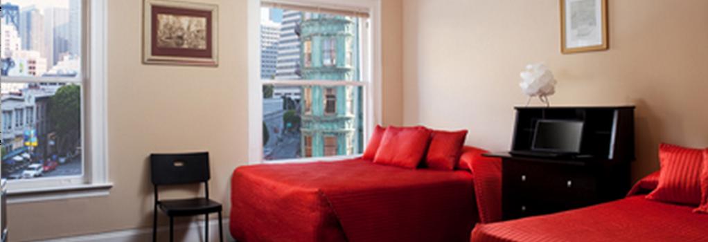 ホテル ノース ビーチ - サンフランシスコ - 寝室