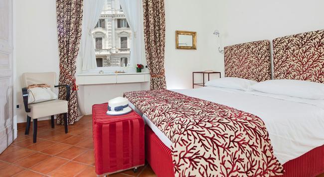 カエサル ハウス レジデンツェ ロマンス - ローマ - 寝室