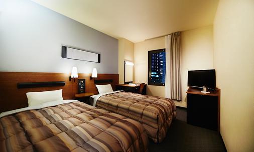 リーガ中之島イン - 大阪市 - 寝室