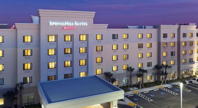 SpringHill Suites by Marriott West Palm Beach I-95 - ウェストパームビーチ - 建物
