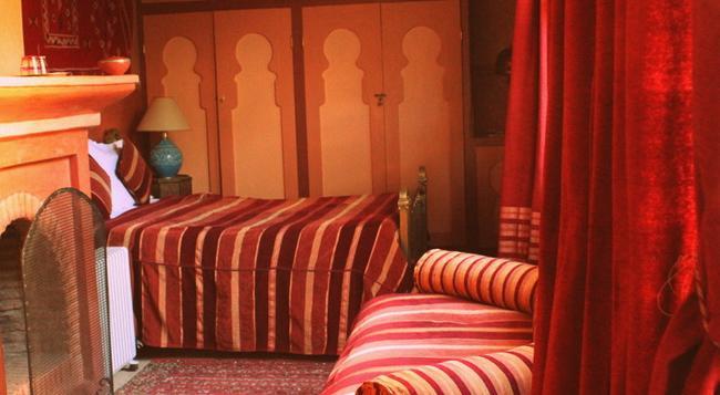 リヤド アル ヌール - マラケシュ - 寝室