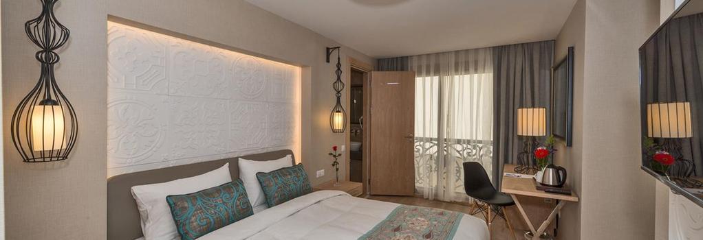 アイバル ホテル - イスタンブール - 寝室