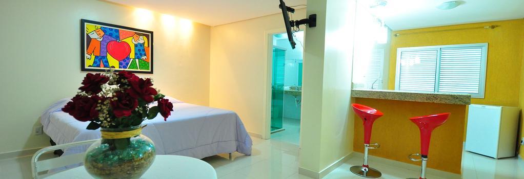 Biss Inn - ゴイアニア - 寝室