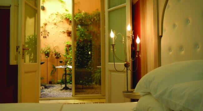 1555 Malabia House Hotel - ブエノスアイレス - 寝室