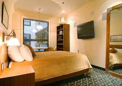 ハーバーサイド イン - ボストン - 寝室