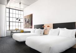 21c Museum Hotel Oklahoma City - オクラホマシティ - 寝室