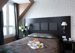 オテル ブリッタニー - パリ - 寝室