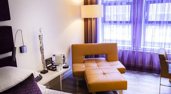 アルバス ホテル アムステルダム シティー センター - アムステルダム - 寝室
