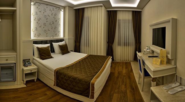 サミル デラックス ホテル - イスタンブール - 寝室