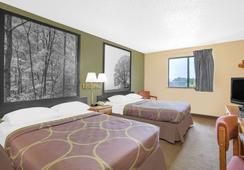 Super 8 Roanoke VA - ロアノーク - 寝室