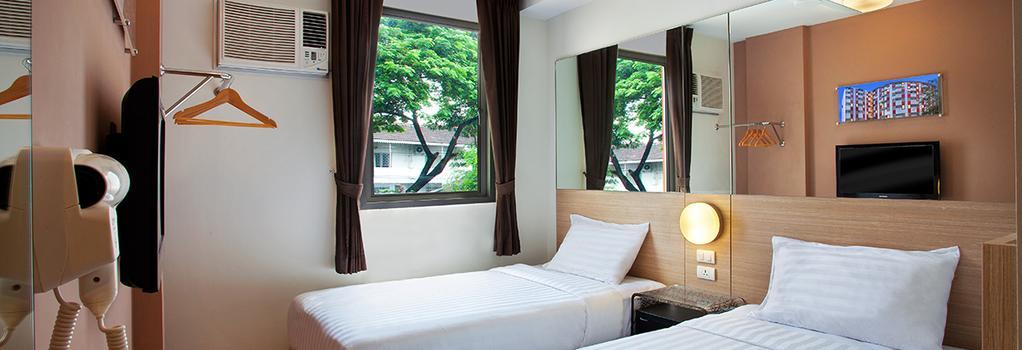 レッド プラネット パタヤ - パタヤ - 寝室