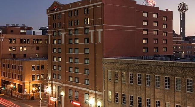 SpringHill Suites by Marriott Dallas Downtown-West End - ダラス - 建物