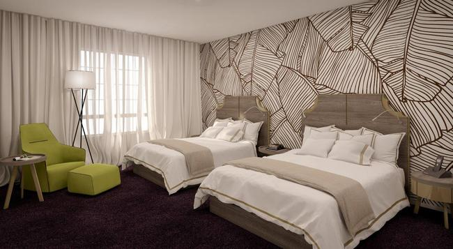 The L Hotel - マイアミ・ビーチ - 寝室