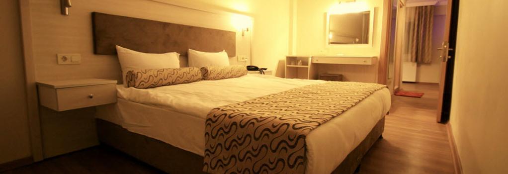 グランド ゼイベック ホテル - イズミール - 寝室