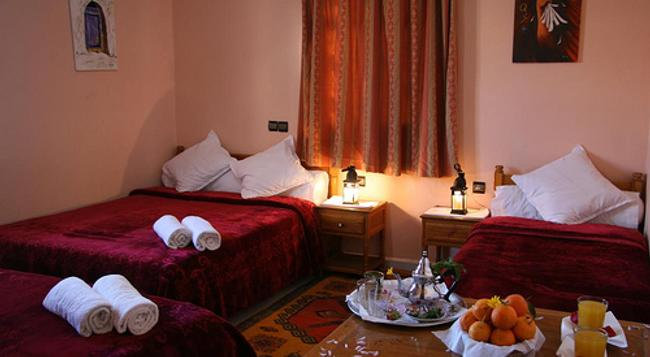 Hotel La Vallée - ワルザザート - 寝室