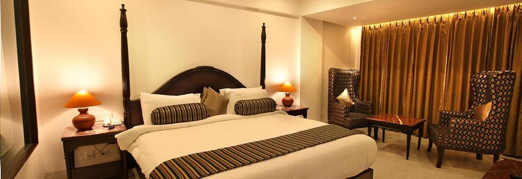 エルビー ガンガ ビュー - Rishikesh - 寝室