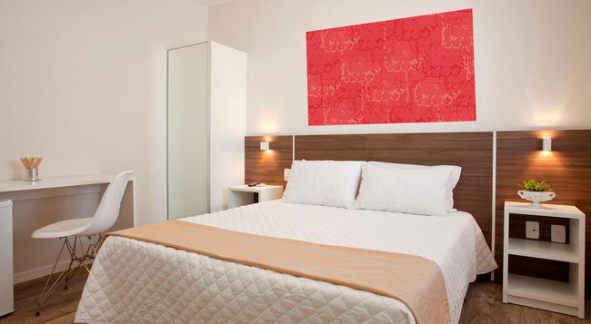 ホテル ゲラニアス プライア ドス イングレセス - フロリアノーポリス - 寝室