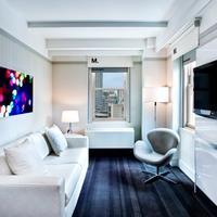 ロー NYC アット タイムズ スクエア Executive Suite Living Room