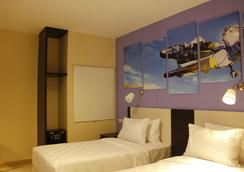 Sinar Sport Hotel - Kota Bengkulu - 寝室