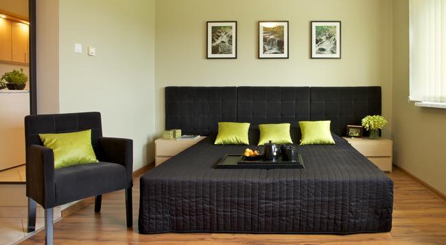 Delta Apart-House - ヴロツワフ - 寝室