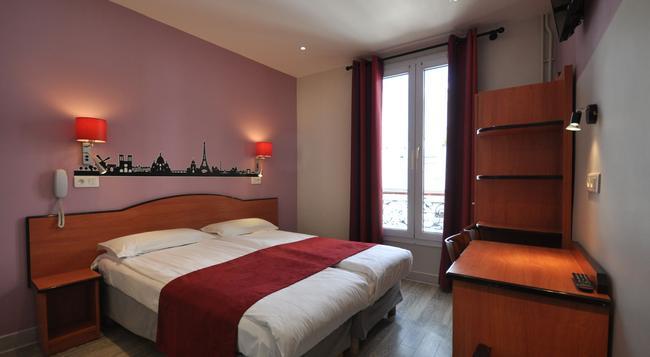グラン ホテル ドゥ トリノ - パリ - 寝室