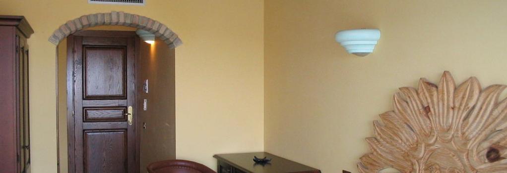Hotel Dell'Ancora - ヴィッラシミーウス - 寝室