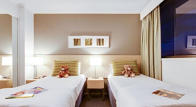 Oakwood Apartments Brisbane - ブリスベン - 寝室