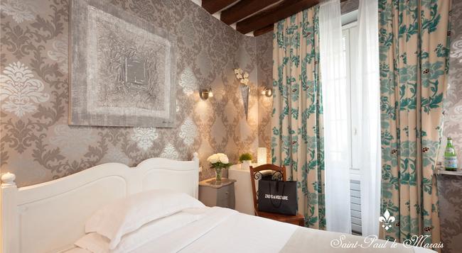 Hôtel Saint Paul Le Marais - パリ - 寝室