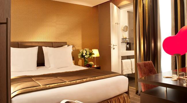 ホテル エリゼ メルモーズ - パリ - 寝室