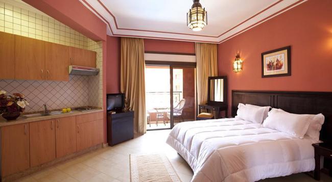 モガドール メンザ アパート ホテル - マラケシュ - 寝室