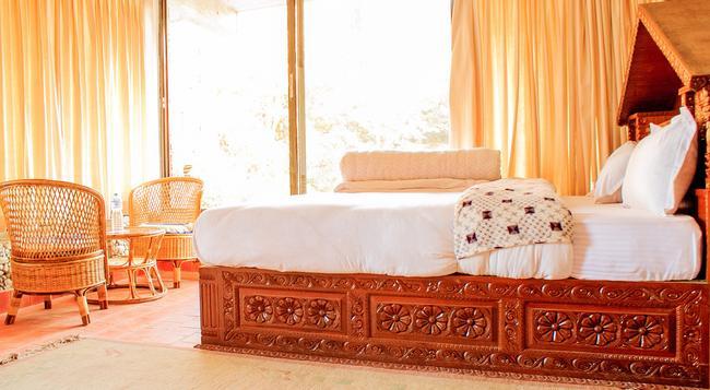 ピースフル コテージ & カフェ ドゥ モン - Nagarkot - 寝室